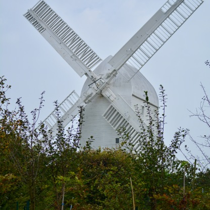 Windmills above Pyecome