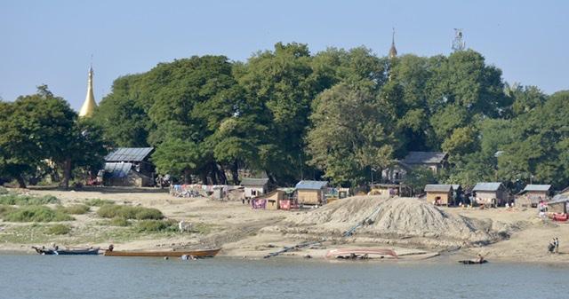 Bagan to Mandalay byBoat
